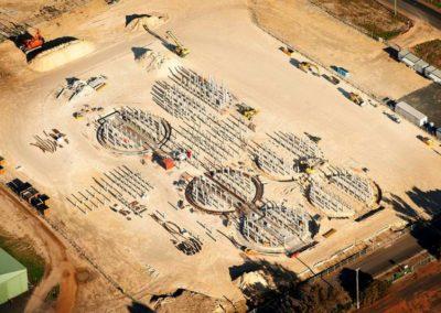 Bunge Grain Silos – Foundation Design