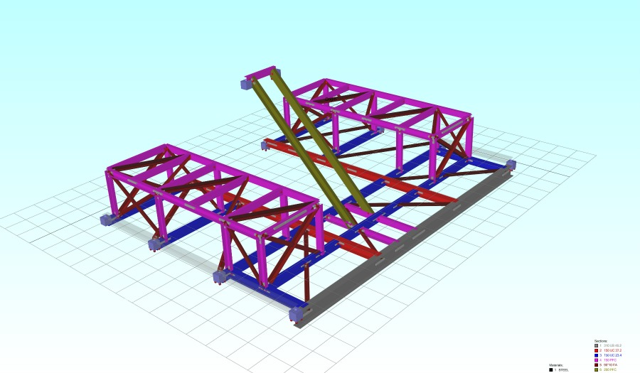 A cgi design image of the Argyle platform drawn up by WMLs structural engineering consultants.