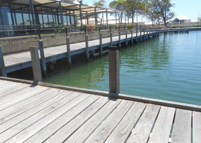 Mandurah Quey Resort Boardwalk Inspection
